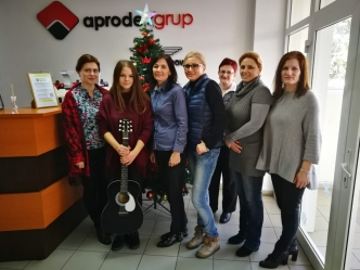 Carolites arrived at the APRODEX headquarters - 2018#1